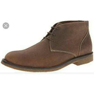 Johnston & Murphy brown chukka boots 9.5
